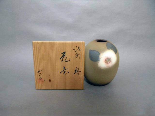 埼玉県 川越市で「林小六(林慶六)」や「ボヘミアガラス」の花瓶を買取らせて頂きました