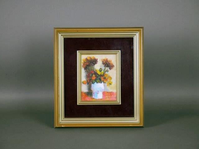 埼玉県 比企郡 嵐山町で油絵(絵画)や掛軸を買い取らせて頂きました