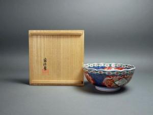 井上陶源 錦手鉢