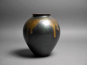 玉川堂 銅製 花瓶