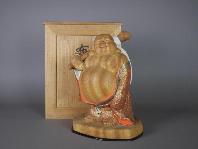 東京都 葛飾区で木彫の彫刻作品をご売却頂きました