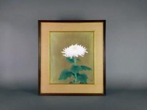 小林大幾 日本画 菊