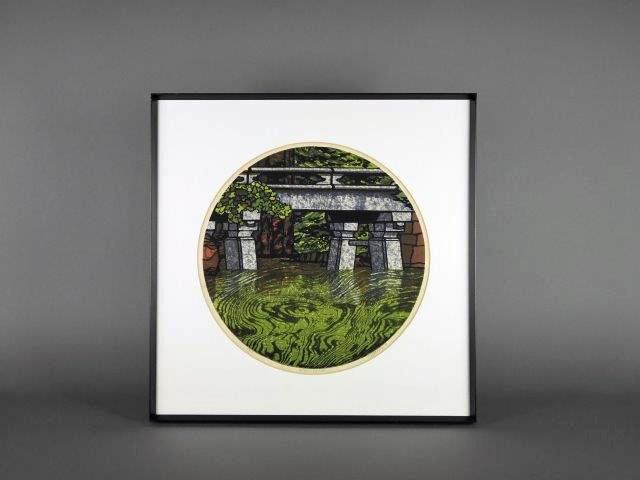 東京都 目黒区で「クリフトン・カーフ」の木版画をご売却頂きました