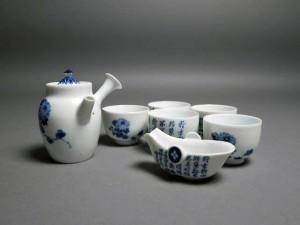 三浦竹泉 煎茶器一式