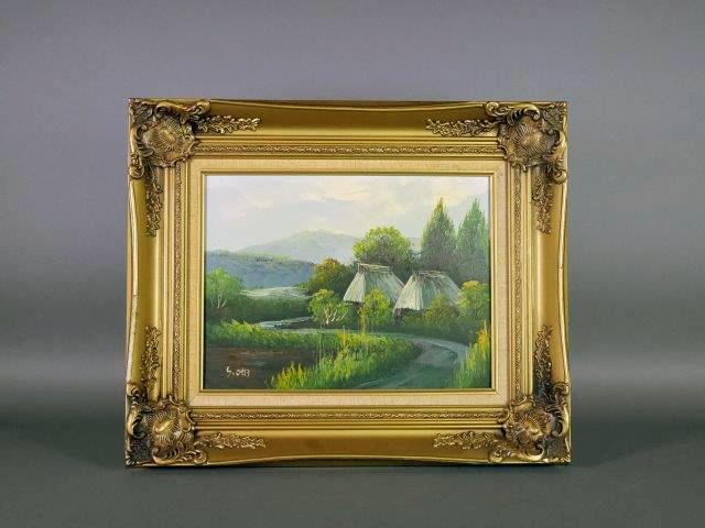東京都 北区で絵画(油絵)や西洋アンティーク(フィギュリン)を買取らせて頂きました