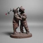 さいたま市 大宮区でブロンズ像やロイヤルドルトンのフィギュリン(陶器人形)を買取らさせて頂きました