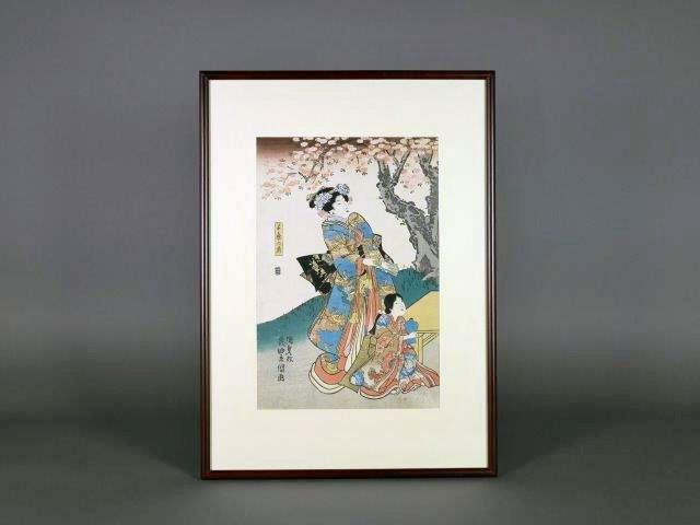 群馬県 伊勢崎市のお客様から浮世絵(版画)をご売却頂きました