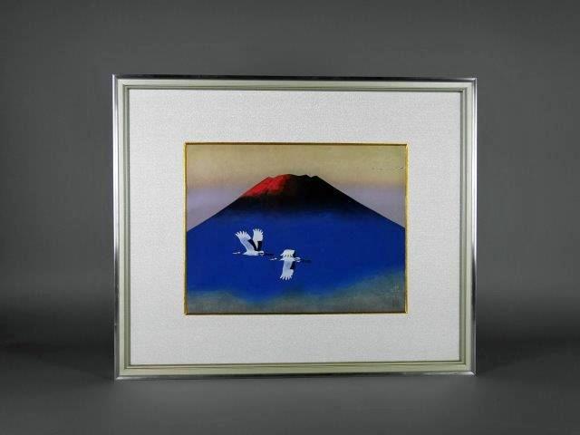 群馬県 伊勢崎市で「大山忠作」や「山口華楊」の木版画を買取らさせて頂きました