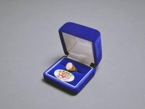 サンゴ指輪