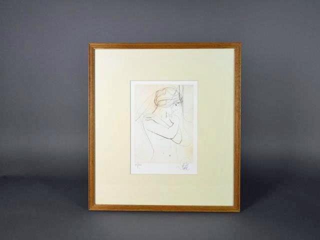 東京都 千代田区で「ジャン・バティスト・バラディエ」の版画や漆器の重箱をご売却頂きました