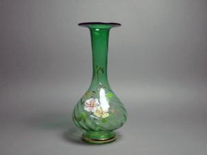 埼玉県 所沢市で西洋アンティークガラス花瓶や煎茶碗(茶道具)を買い取らさせて頂きました