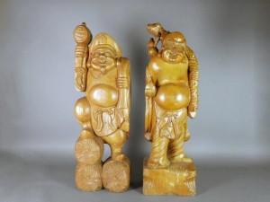 さいたま市 南区で木彫の仏像を買い取らせて頂きました