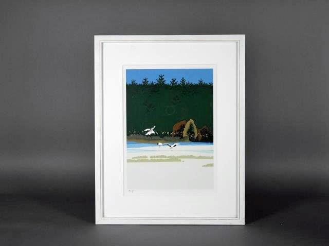 埼玉県 川口市で「内田正泰」の版画や「田中芳園」の日本画をご売却頂きました