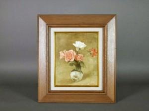 東京都 小平市で「佐久間公憲」の油絵や「山田宴三」の日本画、ブロンズ像を買取らせて頂きました