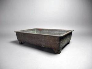 埼玉県 川口市で銅製の水盤や手焙(火鉢)を買い受けさせて頂きました