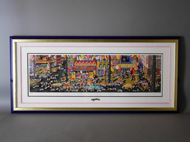 さいたま市 桜区のお客様から「ヒロ・ヤマガタ」のシルクスクリーン(版画)をお譲り頂きました