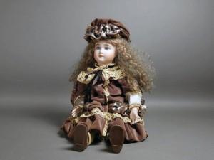 ビスクドール アンティークドール 西洋人形