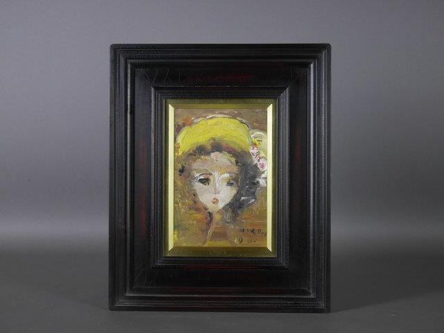 埼玉県 川越市で「織田広喜」の絵画(油絵)や鉄瓶をご売却頂きました