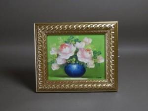 絵画(油絵) 花