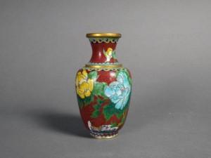 東京都 小平市で七宝花瓶や輪島塗の花器などを買受けさせて頂きました