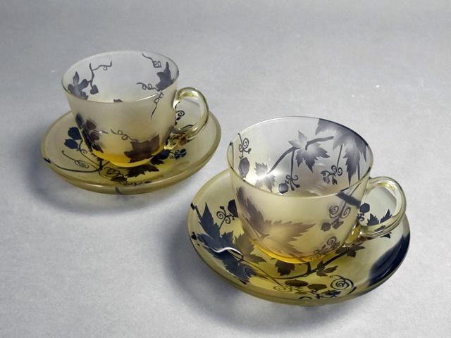 埼玉県 川越市で被せガラス細工のガラス工芸品を買い受させて頂きました