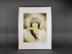 神奈川県 綾瀬市で「ベルナール・シャロワ(Bernard Charoy)」のリトグラフや「織田義郎」の銅版画を買受させていただきました
