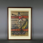 東京都 品川区で「ベルナール・ビュッフェ(Bernard Buffet)」のリトグラフや「小林敬生」の木版画をお取引きさせて頂きました