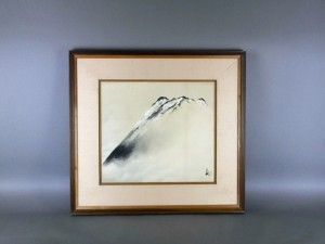 東京都 文京区で「橘天敬」の日本画をご売却頂きました