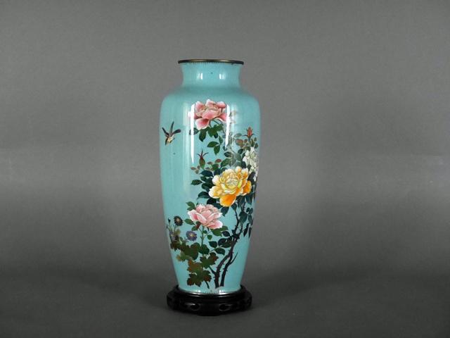 東京都 国分寺市で七宝花瓶を買取らせて頂きました