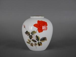 オールドノリタケ 花文 花瓶