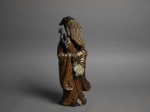陶磁器 寿老人