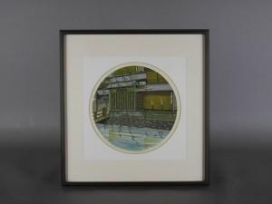 埼玉県 行田市で「井堂雅夫」の木版画や「諸沢吉美」のリトグラフを買い取らせて頂きました