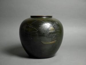 東京都 西東京市で象嵌細工が施された銅器を買いとらせて頂きました