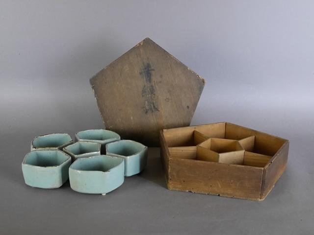 埼玉県 八潮市で時代箱に入った青磁の陶磁器をお取り引き頂きました