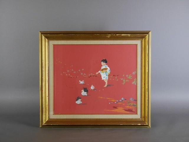 東京都 足立区で日本画(人物画)や油絵(静物画)などの絵画を買受させて頂きました