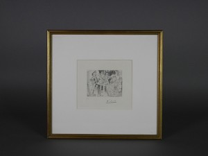 東京都 中央区で「パブロ・ピカソ」の版画をご売却頂きました