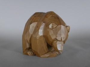 東京都 府中市で木彫の熊などを買取らせて頂きました