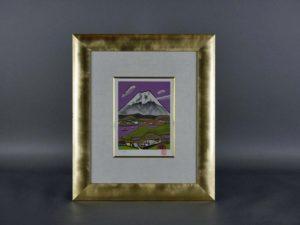 田崎広助 リトグラフ「富士山」
